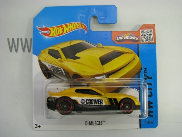 Hot Wheels 2015 D-Muscle HW City CFH10